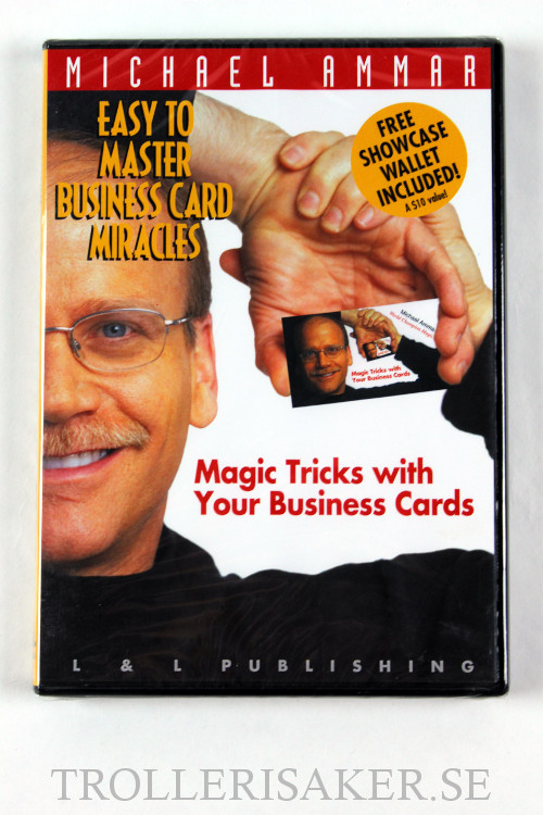 Card Magic Easy To Master Business Card Miracles